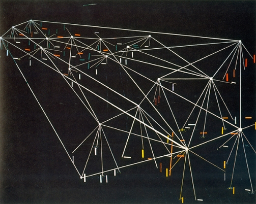 Jules de Balincourt _Untitled (Black Map)_ 2006 72 dpi